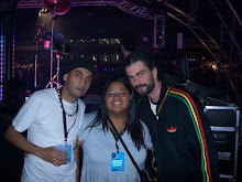 "DJ Chris Souldeep, Fabi Pinheiro e Jaba (Vocalista do MegaHit  ""RISE"")"