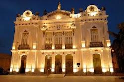 FACHADA do Teatro Alberto Maranhão