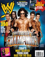 WWE Magazine Enero