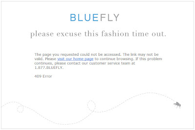 Click to view this Aug. 21 Bluefly email larger