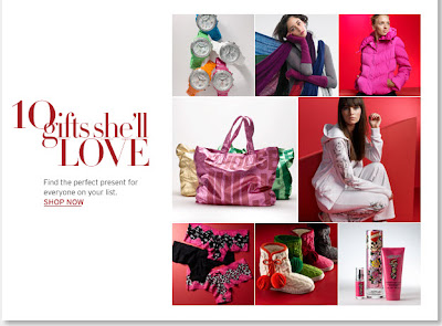 Click to view this Nov. 24, 2008 Nordstrom email larger