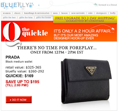 Click to view this Dec. 17, 2008 Bluefly email full-sized