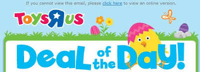 Click to view this Easter header from a Toys R Us email full-sized