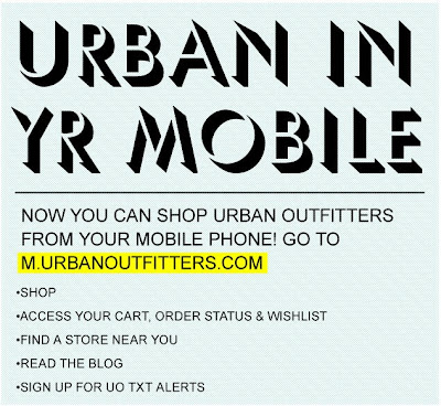 Click to view this June 25, 2009 Urban Outfitters email full-sized
