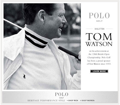 Click to view this first mockup of this July 23, 2009 Ralph Lauren email full-sized
