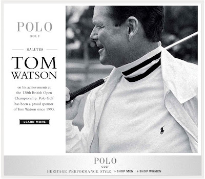 Click to view this second mockup of this July 23, 2009 Ralph Lauren email full-sized