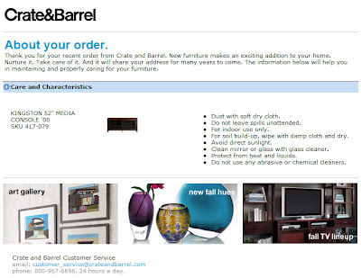 Click to view this Crate & Barrel email full-sized