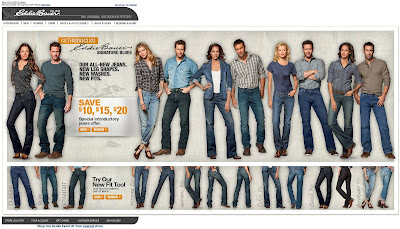 Click to view this Aug. 9, 2010 Eddie Bauer email full-sized