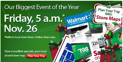 Click to view this Nov. 22, 2010 Wal-Mart email full-sized