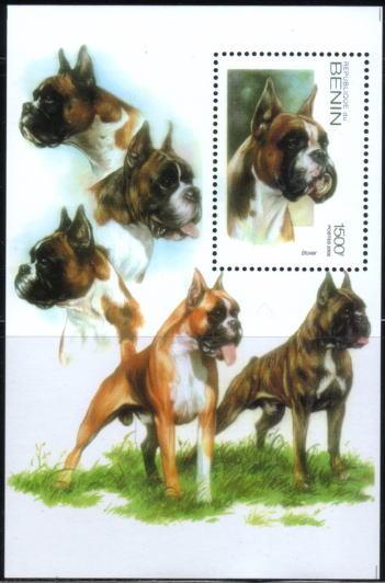2002年ベニン共和国 ボクサーの切手シート