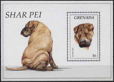 1995年グレナダ シャー・ペイの切手シート