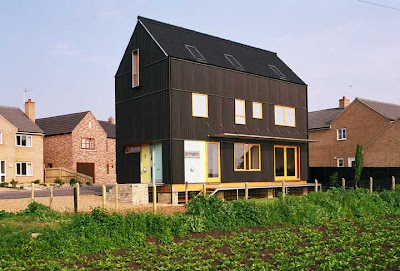This Is A European Barn House Modern Yet Barny