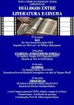 CARTAZ DA 1ª EDIÇÃO DOS DIÁLOGOS ENTRE LITERATURA E CINEMA - 1º SEMESTRE DE 2010