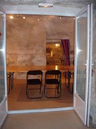 """Passez dans la première cave bâptisée : """"Salle Gauguin"""""""