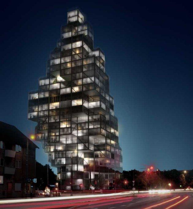 Rødovre Skyscraper, MVRDV [co-architect ADEPT]