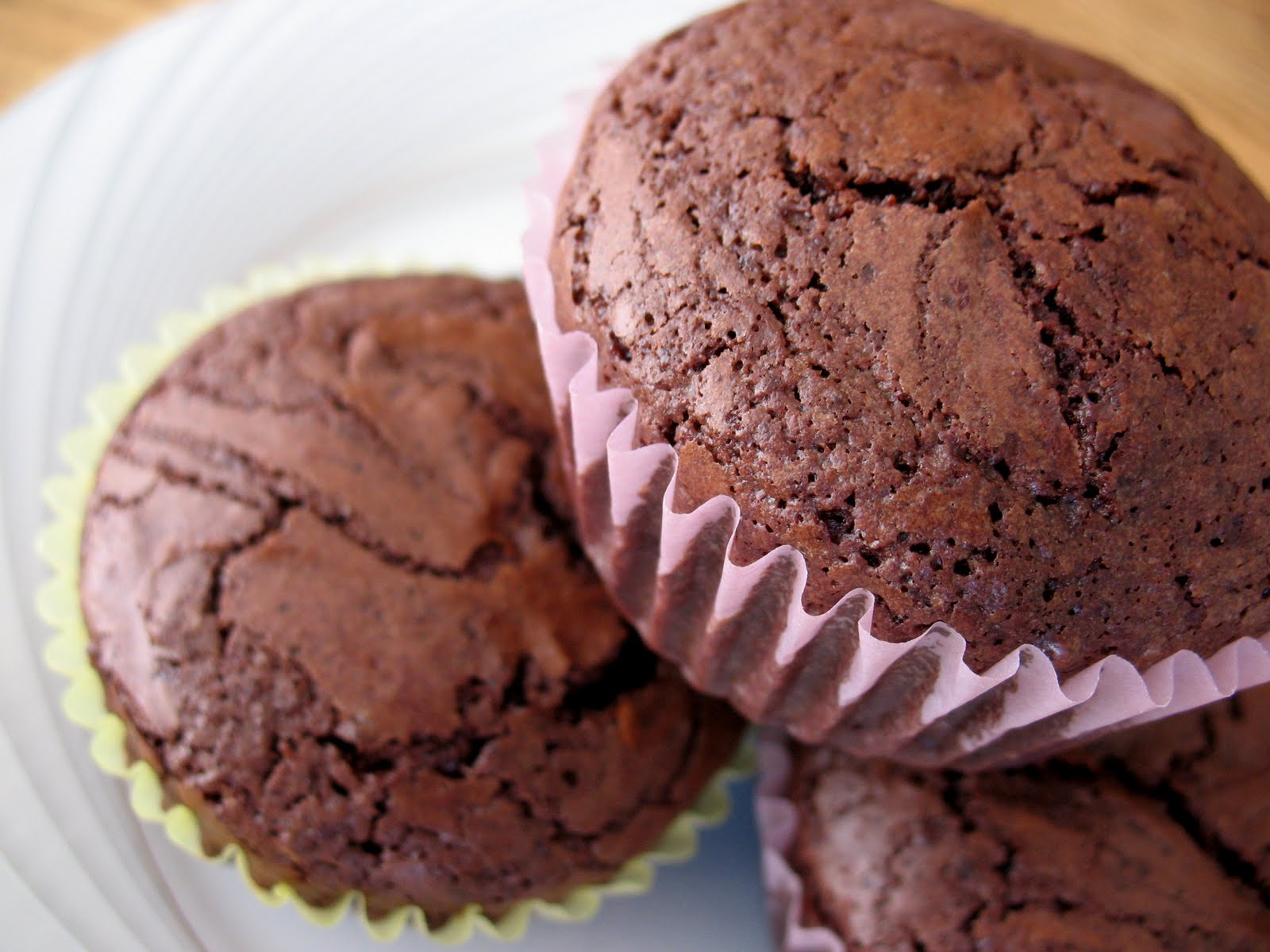 Peppermint Patty Brownie Cupcakes ~ Chasing Tomatoes