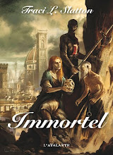 The French cover of Immortal