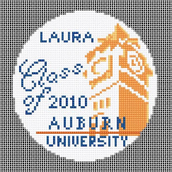 Our latest creation for Auburn University grad!