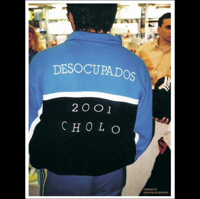 """""""Desocupados 2001"""" (publicó en el 2000) para Pragma/FCB"""