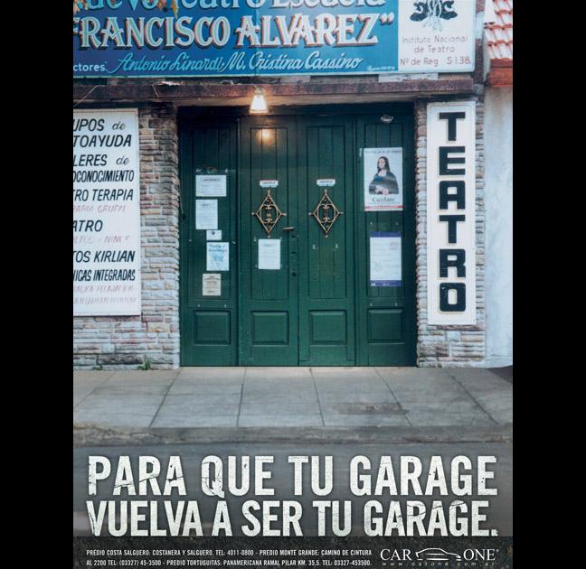 """""""Teatro'' para Car One"""