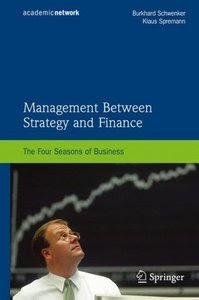 Download Free ebooks Management Between Strategy and Finance