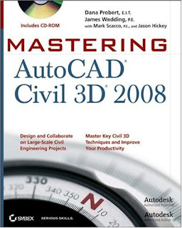 Download Free ebooks Mastering AutoCAD Civil 3D 2008