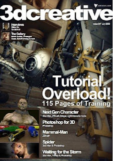Download Free ebooks 3D Creative - July 2009