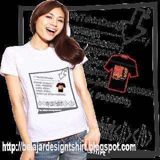 belajar design t-shirt | css t-shirt design
