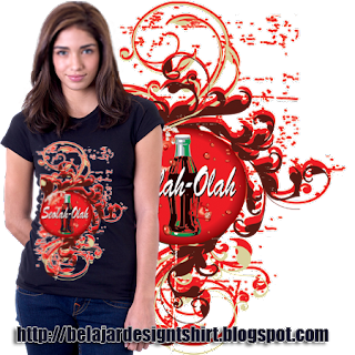 belajar design t-shirt | Seem cola t-shirt design