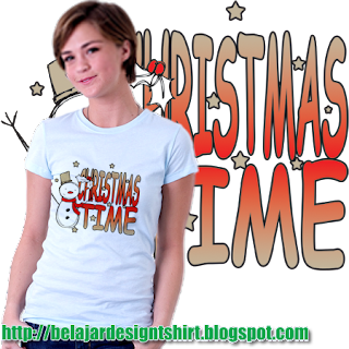 Iskaruji dot com | Christmas time t-shirt design
