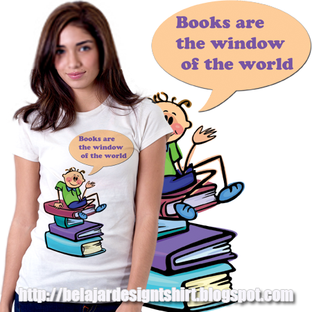 Belajar design t-shirt | Useful books t-shirt design