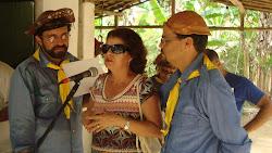 Filha do Capitão Zé da Banha recebe homengem a seu pai.