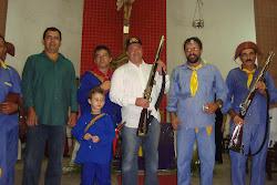 Representantes do Exército e da Fábrica de Pólvora Elephant