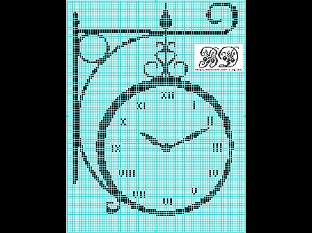 Emy S Gallery Wonderful Cross Stitch Clocks Pattern