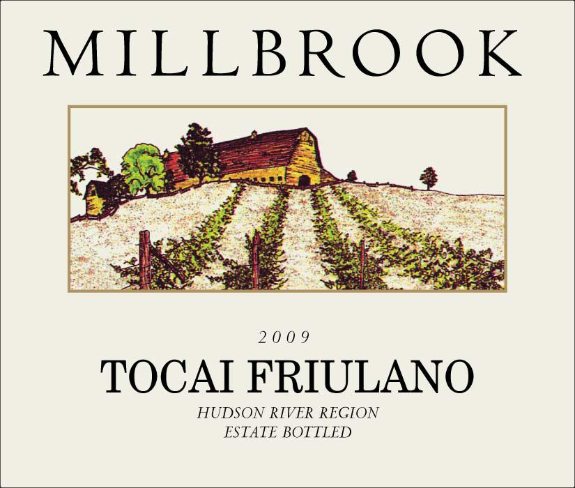 Tocai Friulano Grape Millbrook Tocai Friulano 2009 Hudson River Region