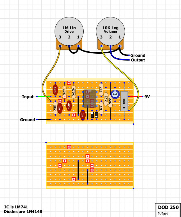 dod distortion schematic danelectro schematics