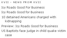 KVII news feed icy roads