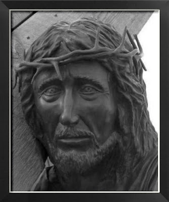 Face of Jesus at the Cross of Our Lord, Groom Texas
