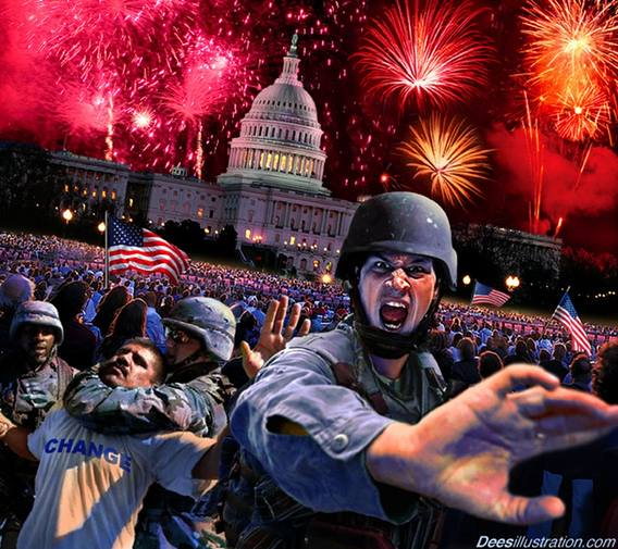 Mike Corthell: 2nd American revolution leads to WW III America Today