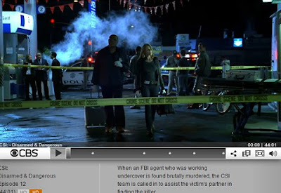 Screenshot C.S.I. on CBS.com