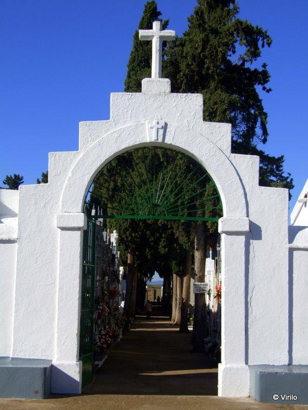 Guare a virilo forzada la puerta principal del for Cementerio parque jardin la puerta