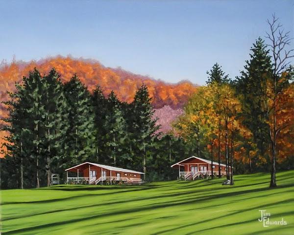 Balsam North Carolina 16 x 20 (Sold)