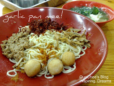 bao bao pan mee garlic