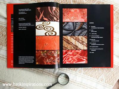 batik book, content
