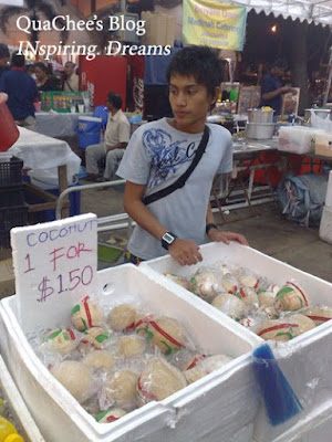 raya, singapore, geylang serai, coconuts