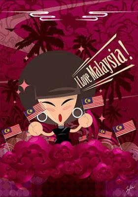 miss hua, i love malaysia