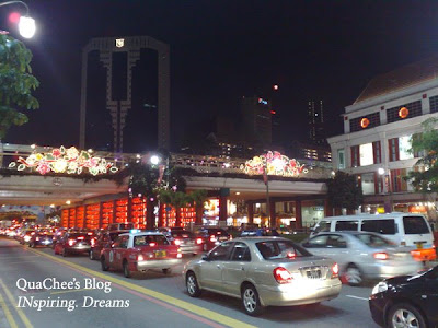 chinatown singapore, traffic, cars