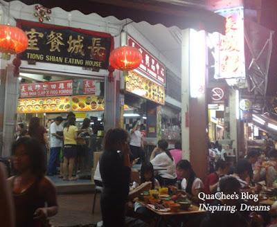 chinatown singapore, restaurant