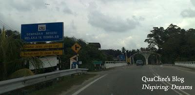 port dickson trip, malacca - negeri sembilan border