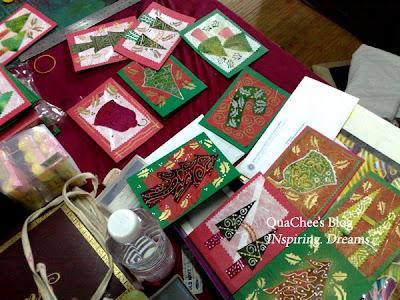 batik, batik art card